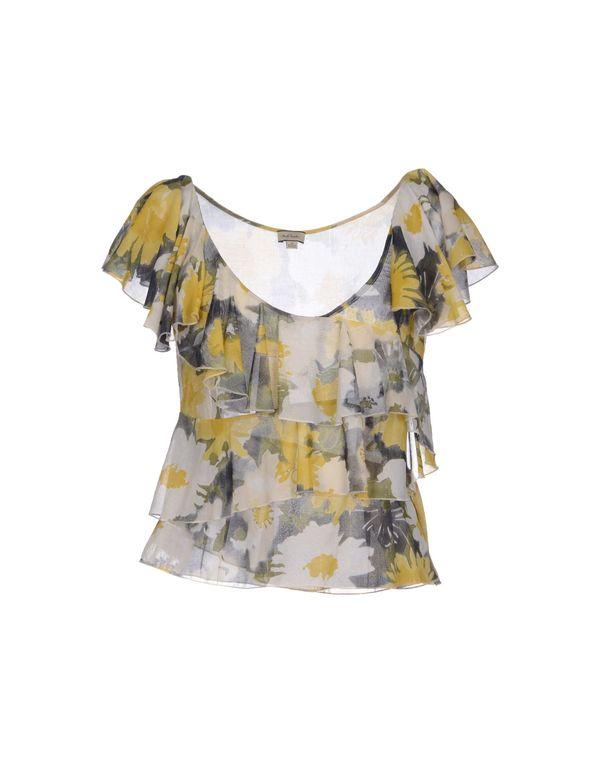 黄色 PAUL SMITH 女士衬衫