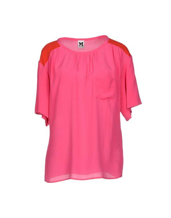 玫红色 M MISSONI 女士衬衫
