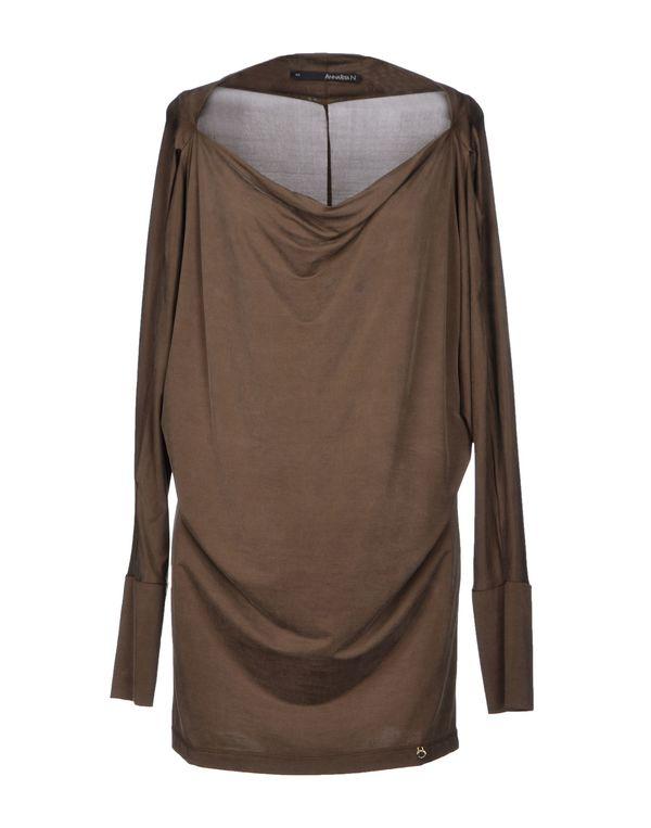 深棕色 ANNARITA N. T-shirt