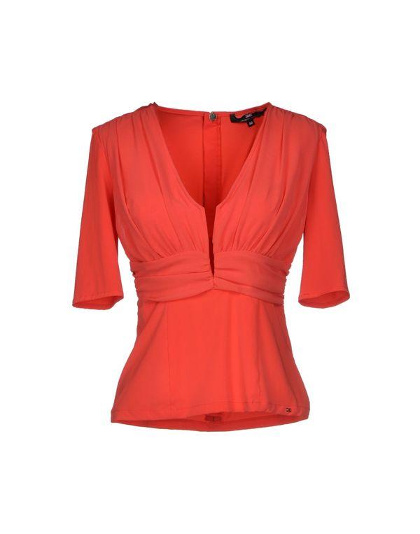 红色 ELISABETTA FRANCHI 女士衬衫