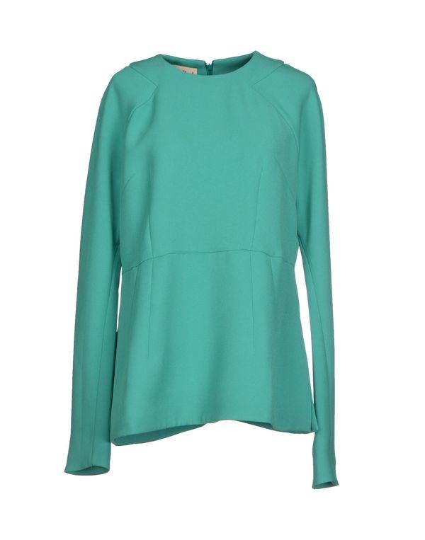 绿色 MARNI 女士衬衫