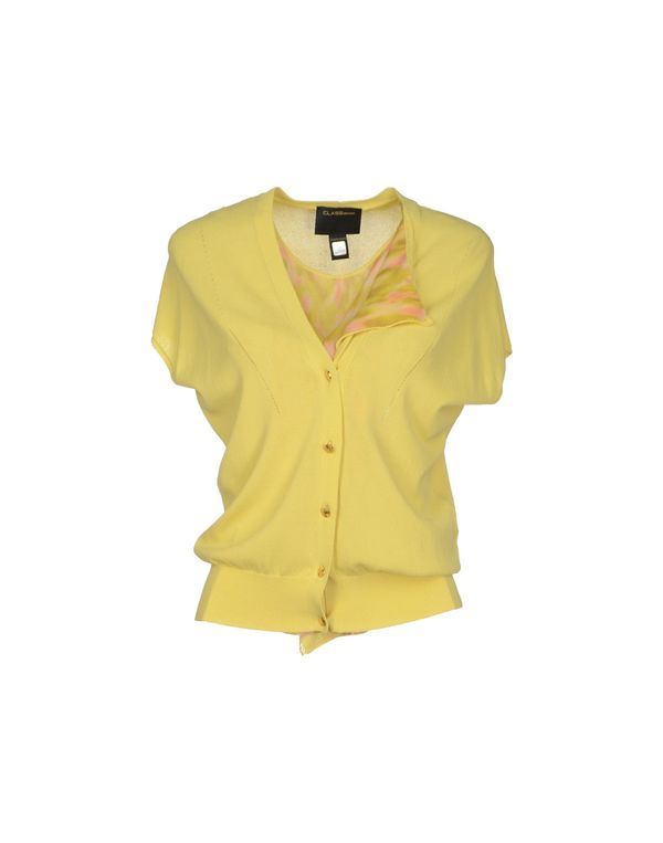 黄色 CLASS ROBERTO CAVALLI 套衫
