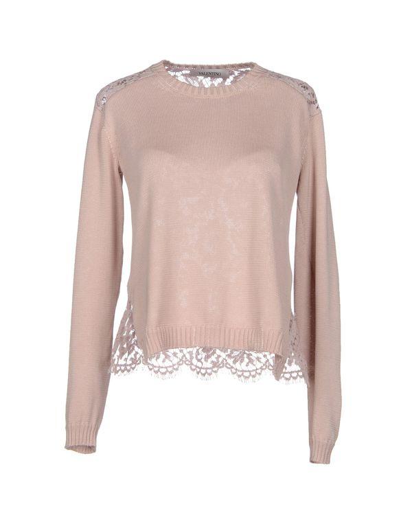 粉红色 VALENTINO 套衫