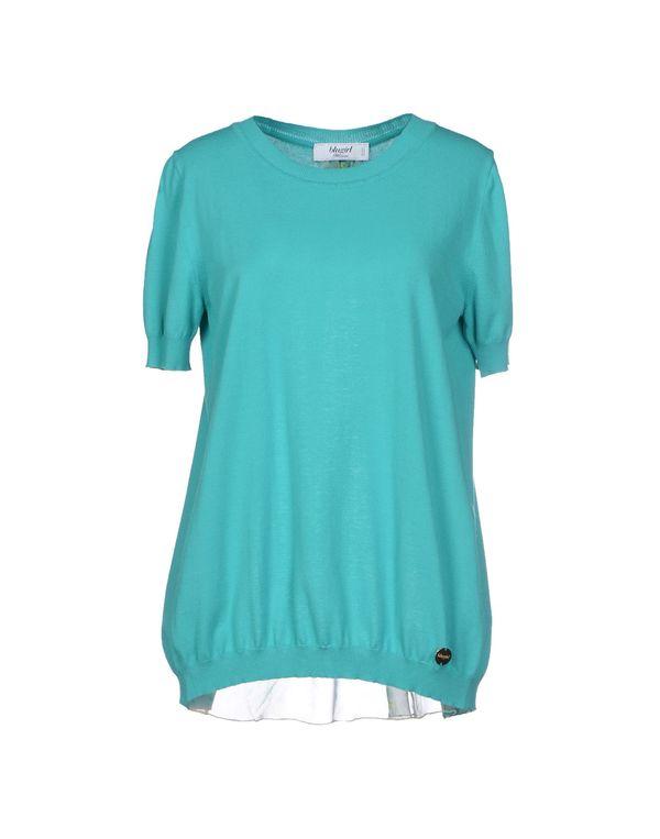 蓝绿色 BLUGIRL BLUMARINE 套衫