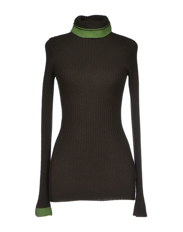 深绿色 Y-3 圆领针织衫