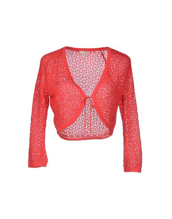 珊瑚红 VERSUS 短套衫