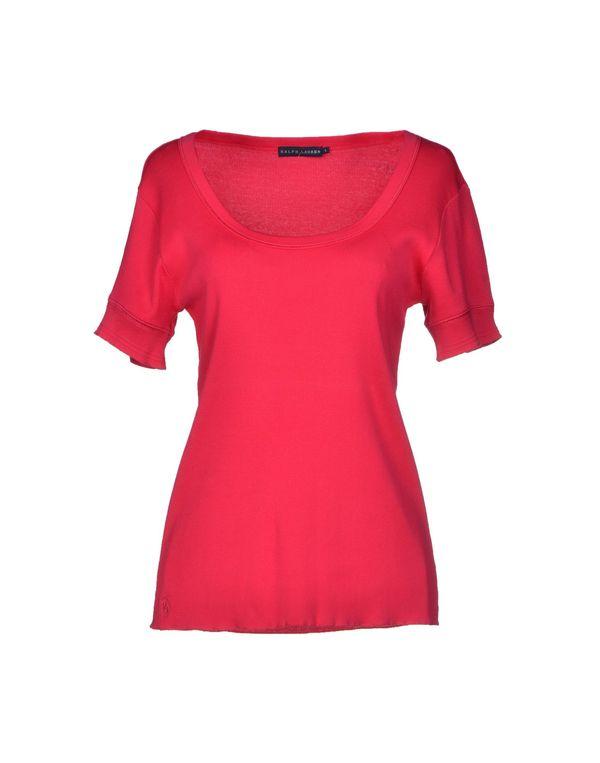 玫红色 RALPH LAUREN T-shirt