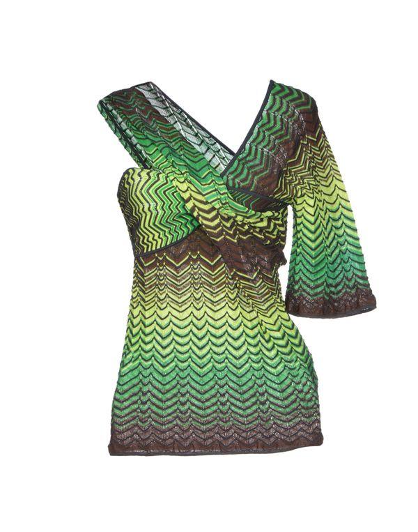绿色 MISSONI 套衫