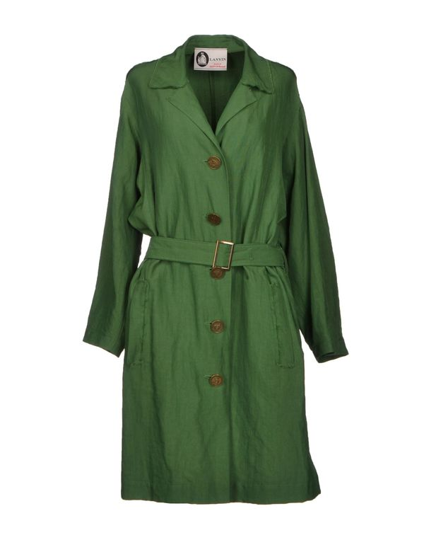 绿色 LANVIN 外套