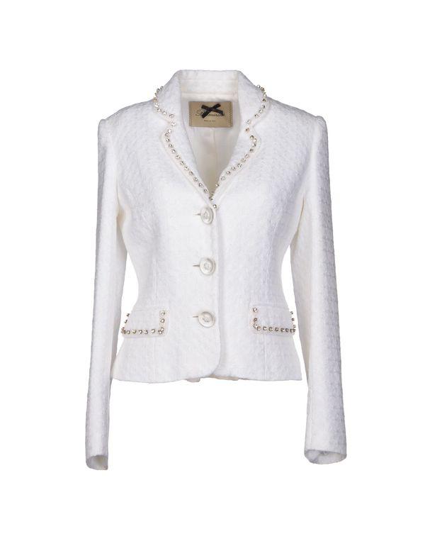 白色 BLUMARINE 西装上衣