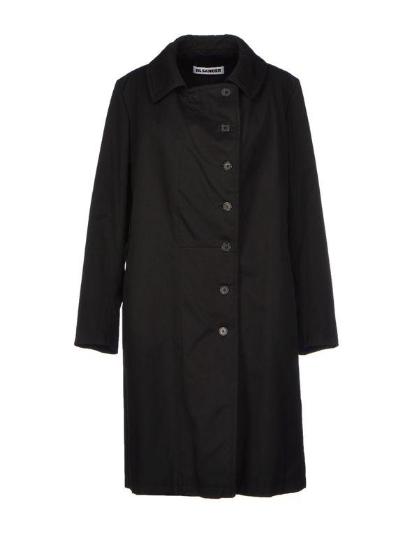 黑色 JIL SANDER 大衣