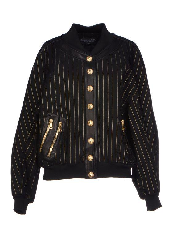 黑色 BALMAIN 夹克