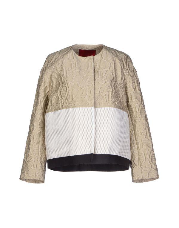 淡灰色 MONCLER GAMME ROUGE 夹克