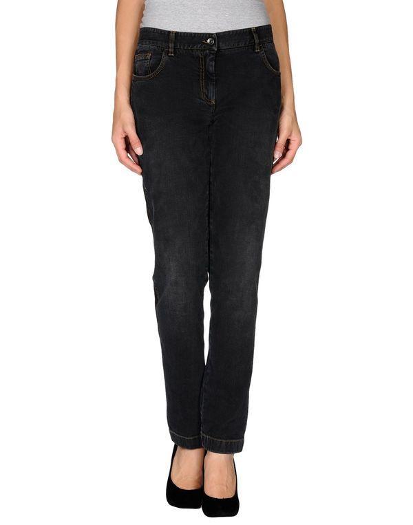 黑色 DOLCE & GABBANA 牛仔裤