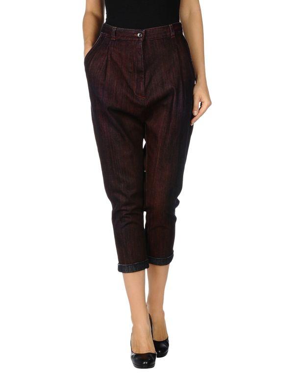 深紫 DOLCE & GABBANA 牛仔裤