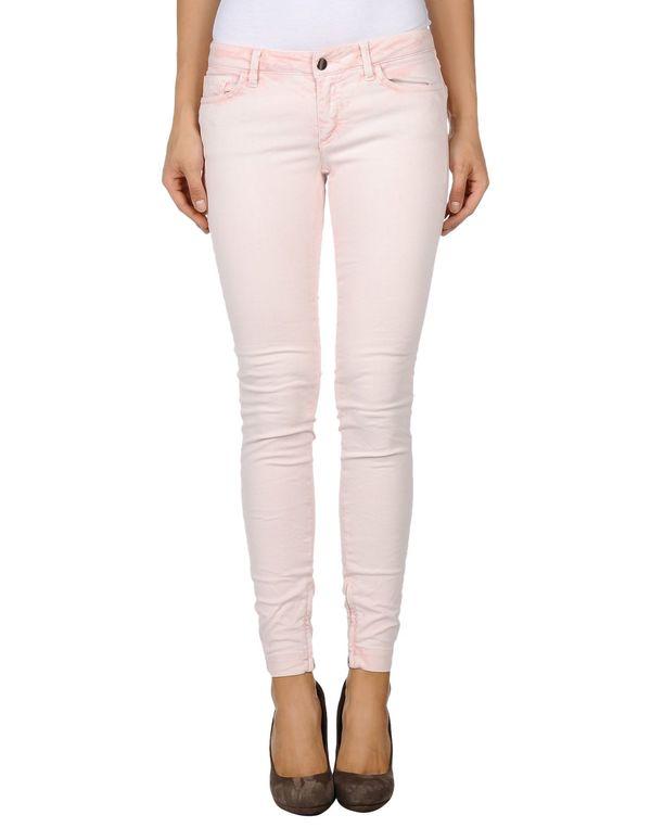 粉红色 DOLCE & GABBANA 牛仔裤