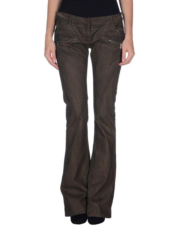 深棕色 BALMAIN 裤装