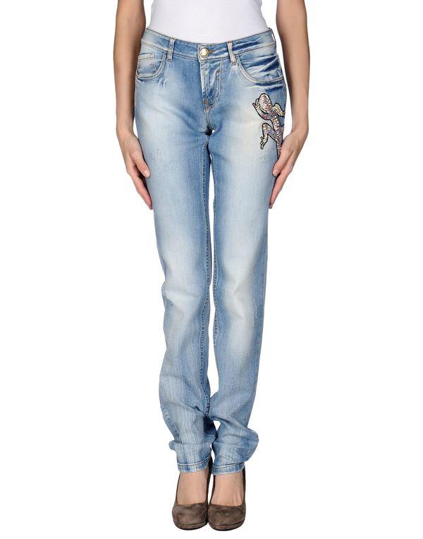 蓝色 BLUMARINE 牛仔裤