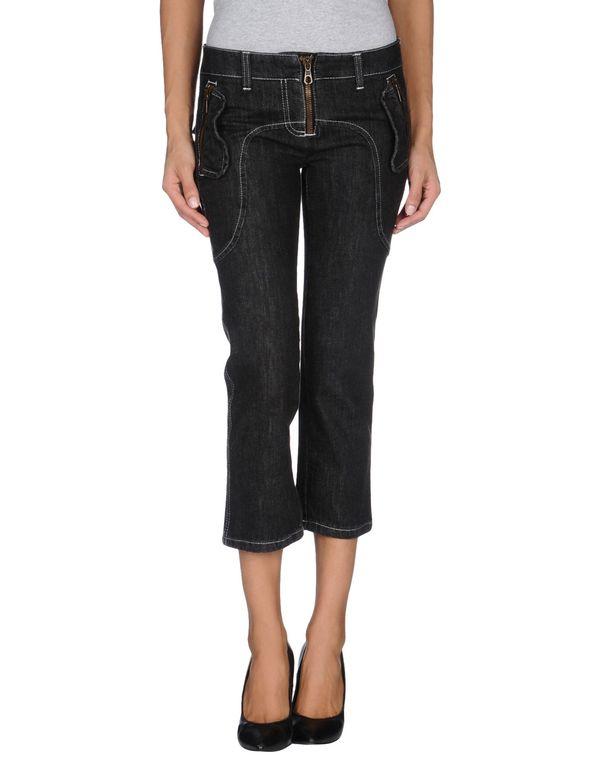 黑色 FRANKIE MORELLO 牛仔七分裤