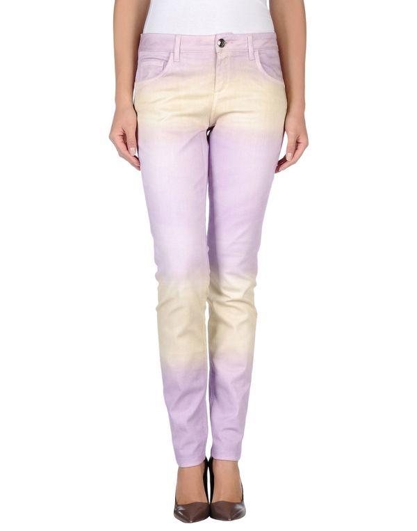 丁香紫 BLUMARINE 牛仔裤