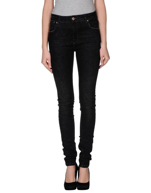 黑色 VICTORIA BECKHAM 牛仔裤