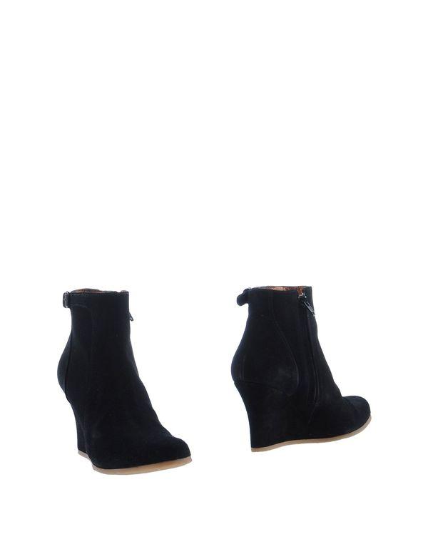黑色 LANVIN 短靴