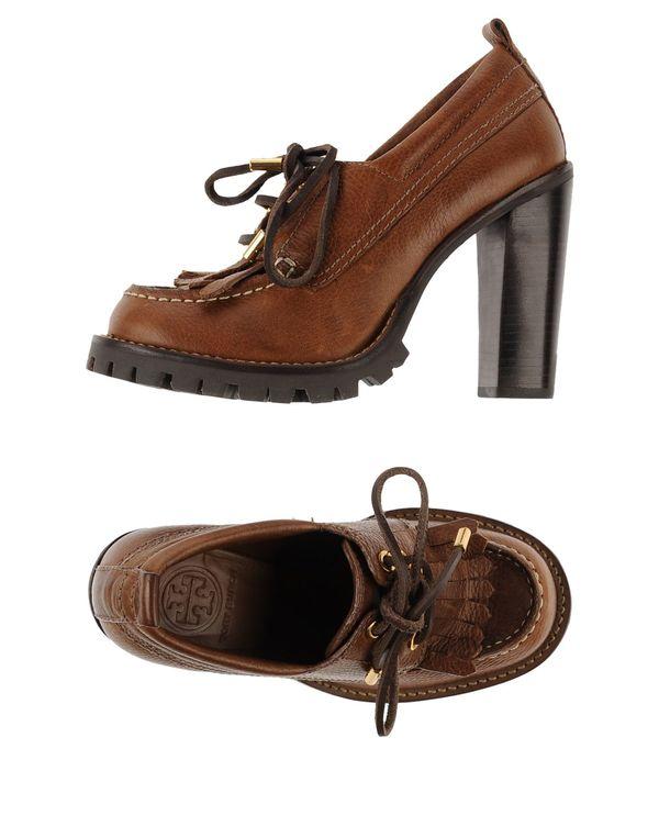 棕色 TORY BURCH 系带鞋