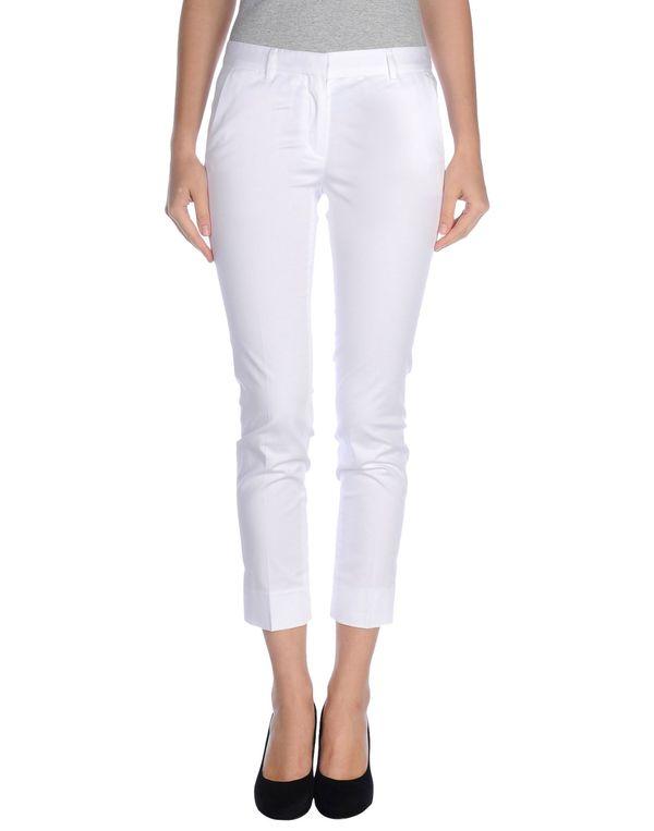 白色 MAURO GRIFONI 裤装