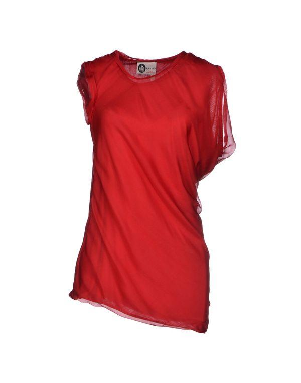 红色 LANVIN 上衣