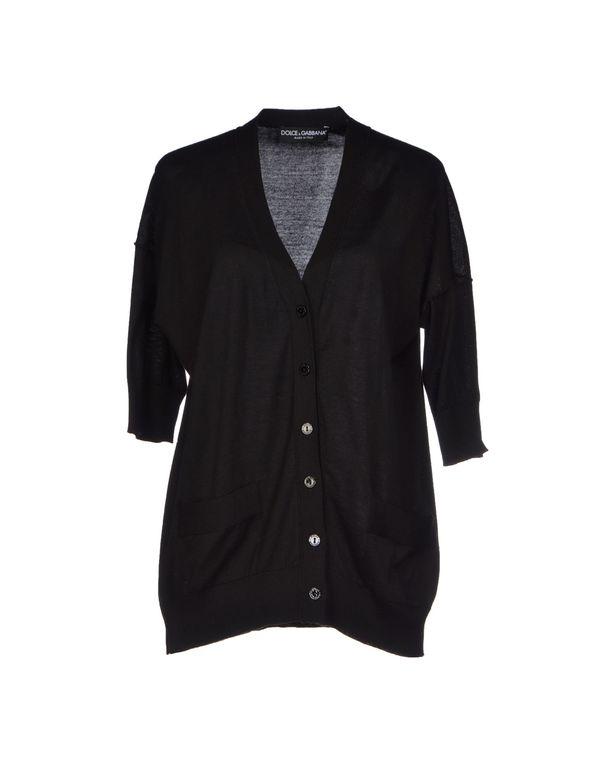 黑色 DOLCE & GABBANA 针织开衫