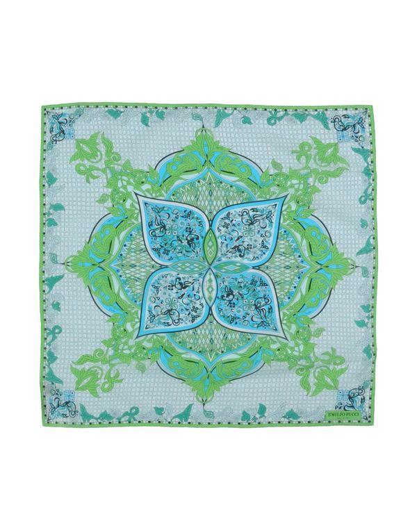 绿色 EMILIO PUCCI 方巾