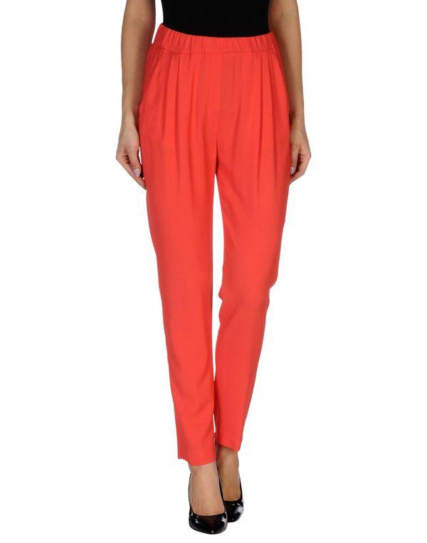 红色 MSGM 裤装