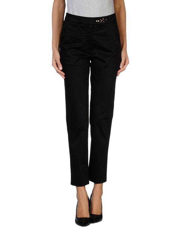 黑色 FAY 裤装