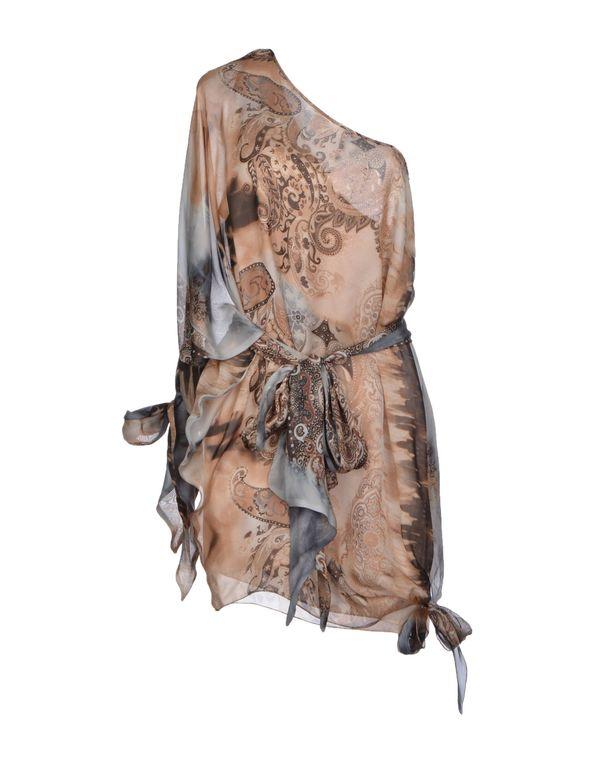 沙色 MARIAGRAZIA PANIZZI 短款连衣裙