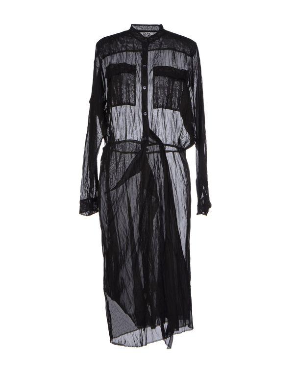 黑色 ACNE STUDIOS 及膝连衣裙