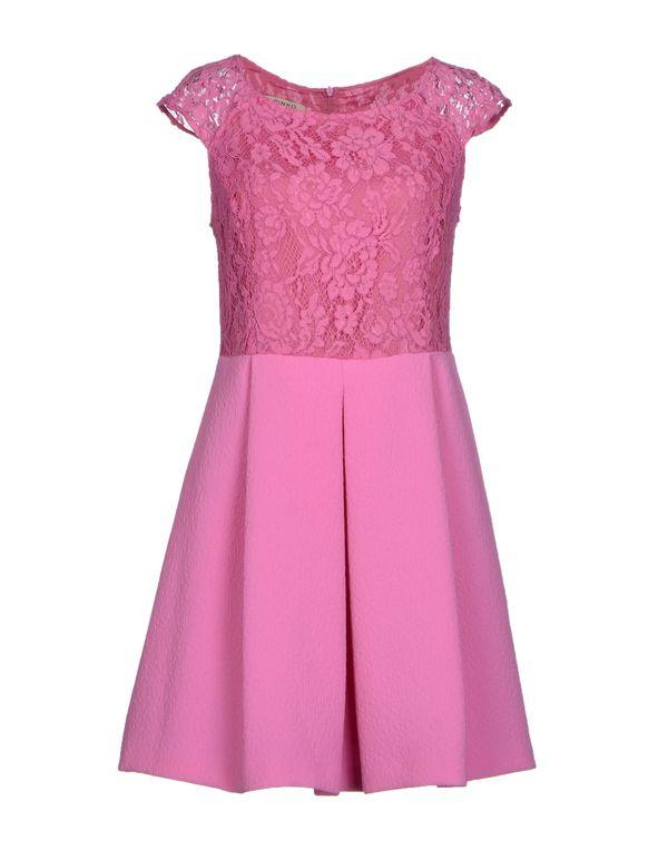 玫红色 PINKO 短款连衣裙