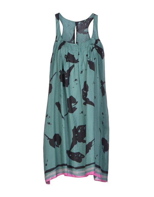 孔雀绿 MANILA GRACE 短款连衣裙