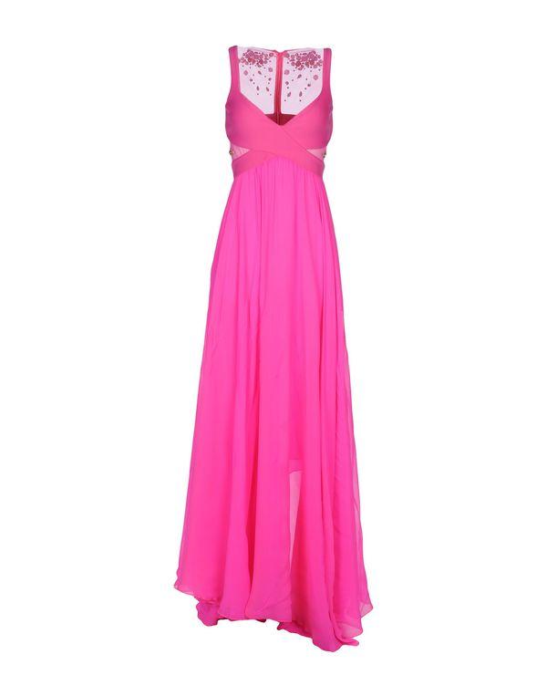 玫红色 PINKO 长款连衣裙