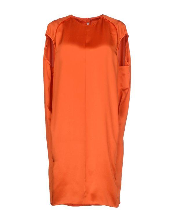 橙色 ACNE STUDIOS 短款连衣裙