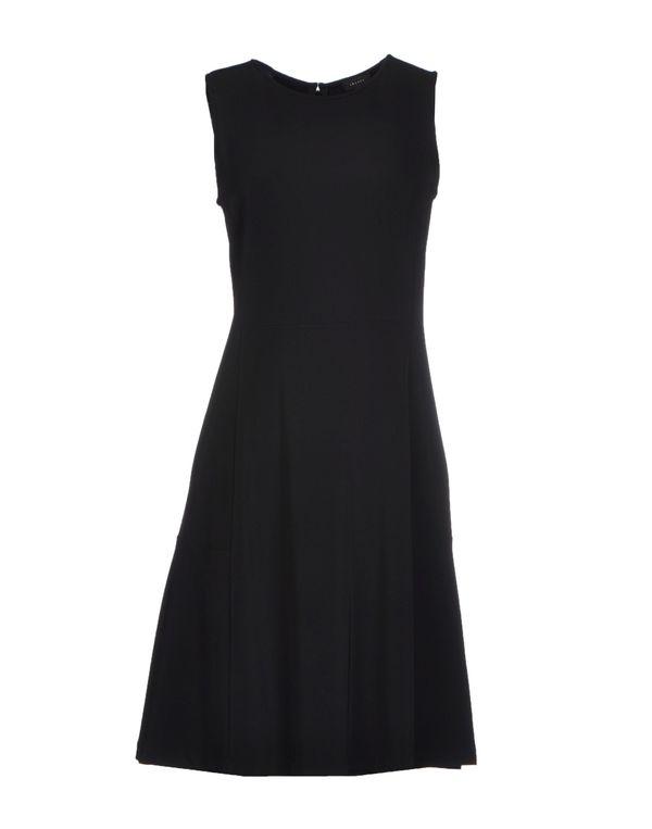 黑色 THEORY 短款连衣裙