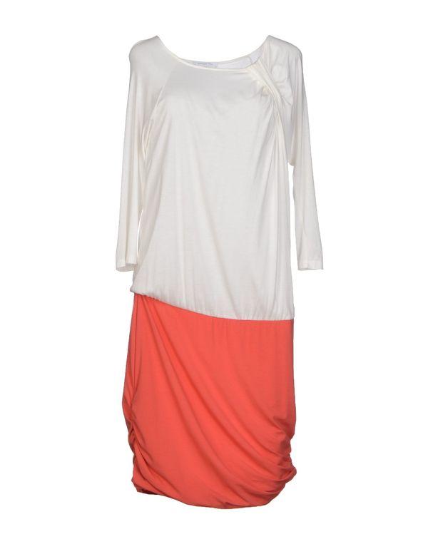 白色 PATRIZIA PEPE 及膝连衣裙