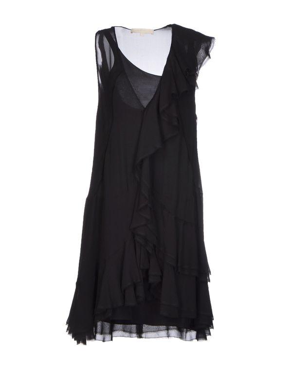 黑色 VANESSA BRUNO 短款连衣裙