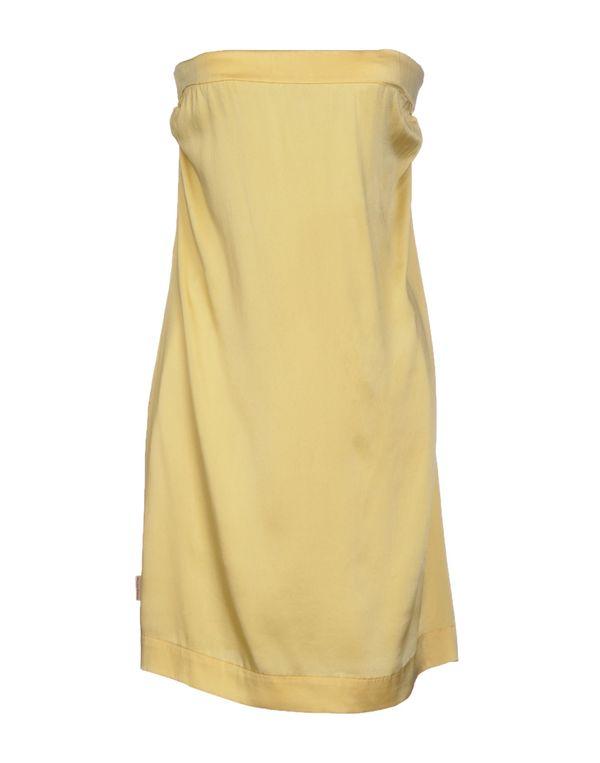 黄色 MANILA GRACE 短款连衣裙