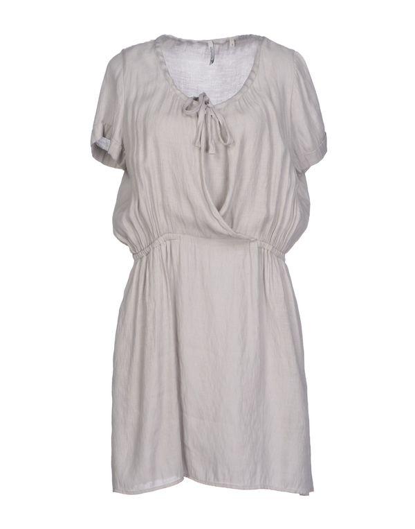 灰色 WOOLRICH 短款连衣裙