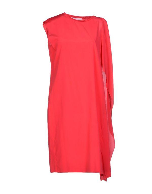 玫红色 LES COPAINS 短款连衣裙