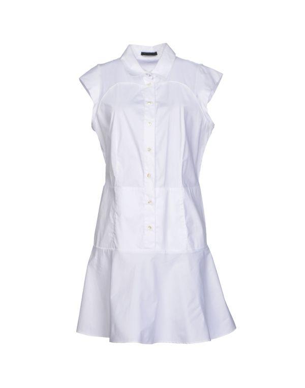 白色 PINKO BLACK 短款连衣裙