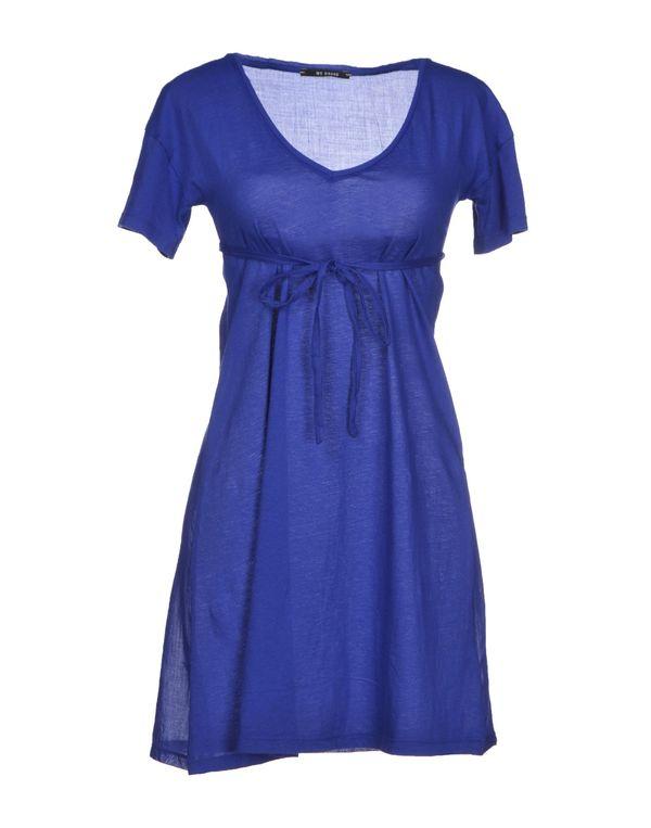 蓝色 VINTAGE 55 短款连衣裙
