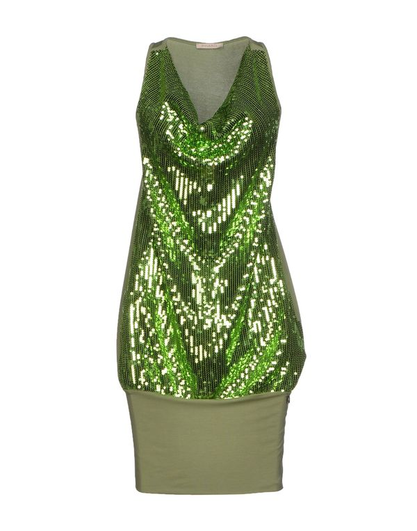 浅绿色 PHARD 短款连衣裙
