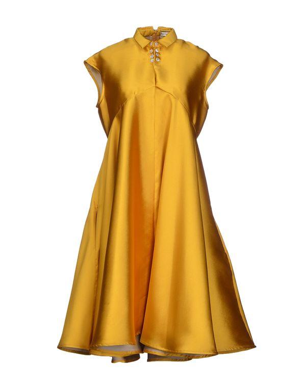 赭石色 ALEXIS MABILLE 及膝连衣裙