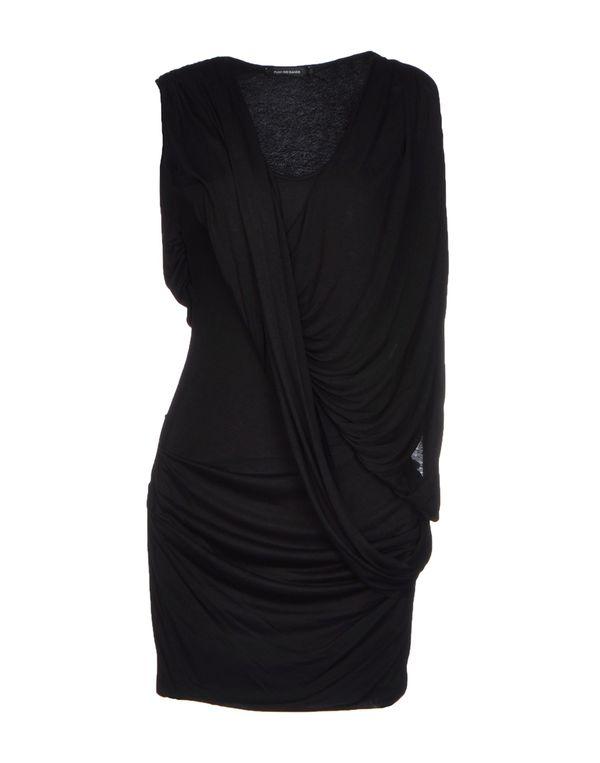 黑色 PLEIN SUD JEANIUS 短款连衣裙